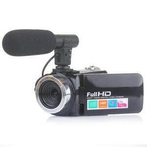 1pcs 2020 heißen Verkauf-Max 24MP 24 Millionen 18X Zoom Av Interface 3.0-LCD-Schirm-heiße Schuh-HD Digitalkamera Verschiffen frei