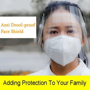 Sicurezza Chiaro Grinding Visiera schermo Maschera Visor Eye protezione anti-fog protezione Prevenire Saliva Splash Mask DHL
