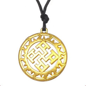 W25 Slavic Amulet Symbol Necklaces Accessories Nordic Viking Amulet Pagan Necklace Vintage Retro Religious Jewelry