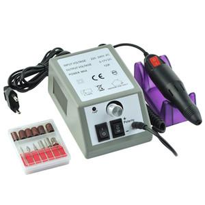 1 Takım Profesyonel Elektrikli Tırnak Matkap Makinesi Manikür Pedikür Matkap Ucu Dosyaları Araçları Jel Lehçe Kesici Taşlama Aparatı Yeni