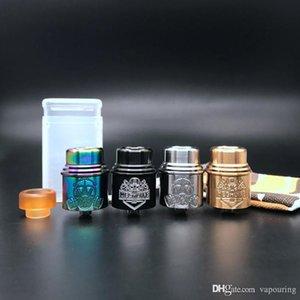 Apocalipsis Mech Lyfe RDA mechlyfe Con gran calibre 24mm Drip Tip 4 colores disponibles Apocalypse X Mechlyfe atomizador de alta calidad 1