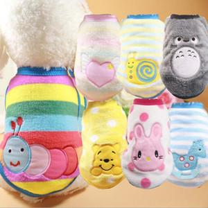 F82a vêtements pour chien en molleton vêtements de dessin animé chiot printemps automne sweat-shirt pour les petits chiens de taille moyenne livraison gratuite