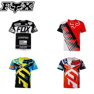 Neu FOX individueller schnell trocknend T-Shirts im Freien schnell trocknend Radbekleidung Männer und Frauen Kurzarm-Oberteile