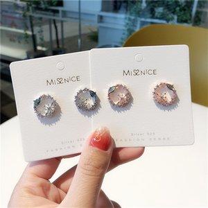 MWsonya coréenne Fashion cristal creux Boucles d'oreilles pour Party Bijoux Boucles d'oreilles femmes élégantes Cadeaux Accessoires
