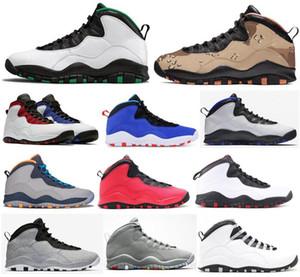 10 10s cimento seattle steattle classe de westbrook de 2006 fusion homens vermelhos sapatos de basquete legal deserto cinzento camo tinker chicago orlando tênis