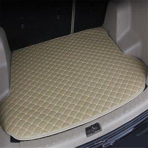 For VEZEL 2015-2019year s Car Anti-skid Trunk Mat Waterproof Leather Carpet Car Trunk Mat Flat Pad