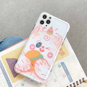New 3D Blingbling ice cream Phone Case For iPhone 11 Pro Max 7 8Plus XSMAX XR XS 11Pro Soft IMD Cute animal Cartoon Coque Shell