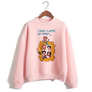 Friends TV Show women hoodie female hooy hoodies Harajuku Oversized Femme 90s girls Sweatshirts Print Long Sleeve clothes