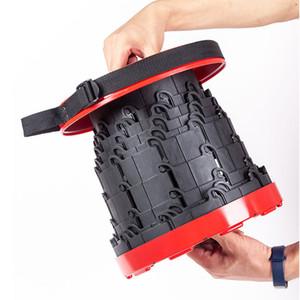 Tragbare Teles Hocker Leicht Außen Stable Hocker Folding Bench Hocker Angeln Stuhl Unterstützung Erwachsene sicher genug FT95 zu tragen
