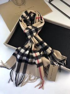 Diseñador de lana de cachemira bufanda del algodón de la plata del oro del hilo mujer impresión de la letra grande 180 * 70cm cuadrados bufandas del abrigo del mantón de la bufanda sin caja