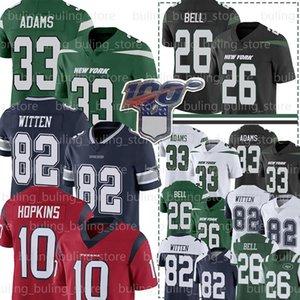 New 33 Jamal Adams IorqueJet Jersey 26 Le'Veon Bell Jersey 82 Jason Witten Jerseys HoustonTexano 10 DeAndre Hopkins Futebol