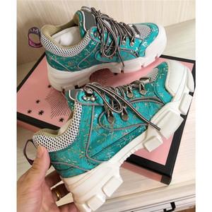 Nuovi FlashTrek progettista della scarpa da tennis con Cristalli rimovibili scarpe da donna casual stilista di lusso Scarpe donna Sneakers con box