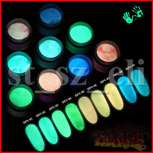 9 Цветов Box Dipping Powder Естественно Сухой Без Лампы Cure Nails Dip Powder Летний Гель Ногтей Цвет 10 мл