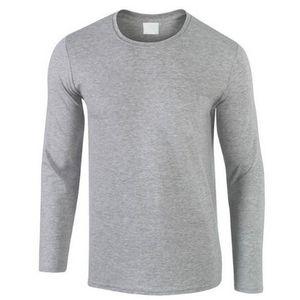 2019 Autunno Nuovo T-SHIRT da uomo in cotone 100%, T-shirt da uomo a maniche lunghe a prezzo ultra basso T-shirt di amanti del colore puro O-Neck di alta qualità SH190828