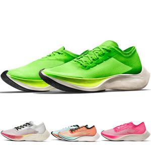 Novo Mais Popular Zoomx seguida 4% Rua Mens tênis para mulheres Trainers Seja verdadeiro arco-íris transparente Esporte Sneakers AO4568-300 AO4568-101