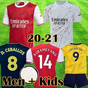 Arsenal maglia da calcio PEPE D CEBALLOS 19 20 soccer jersey football shirt Aubameyang Lacazette 2019 2020 Camiseta Xhaka Ozil del corredo di calcio della camicia uniformi