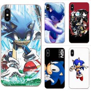 Пользовательские Sonic The Hedgehog TPU Art Online Обложка чехол для Galaxy Гранд A3 A5 A7 A8 A9 A9S On5 On7 Plus Pro Star 2015 2016 2017 2018