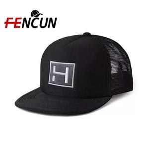 Çin fabrikada Ucuz Fiyat Trucker Hat Custom 5 Paneli Köpük Ve Kafes Unisex Trucker Cap İşlemeli Özel Logo Düz Snapback Mesh Cap