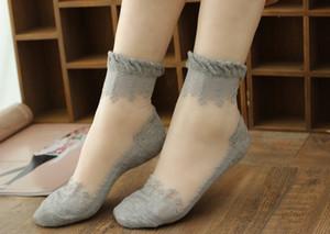 chaussettes été fille femmes fibre de bambou de coton confortable cheville faible fille couleur invisible femme garçon bonnetier 1pair = 2pcs WS42