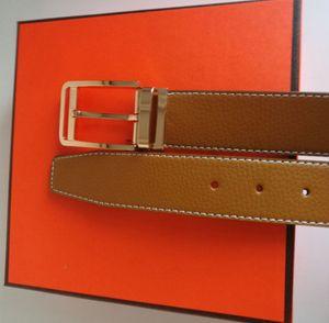 Nova fivela grande cinturões de ceintures estilo dos homens e mulheres Belt Com Moda Big fivela de alta qualidade Moda H com caixa