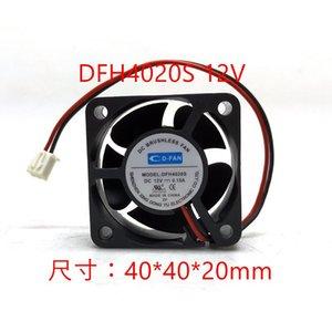 4020 12V Industrie-Computer Motherboard Stromversorgung kleine Chassis Lüfter 4CM flüsterleise