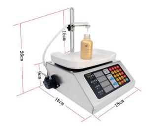 0-50ml petite machine de remplissage liquide automatique de commande numérique par ordinateur machine de remplissage de remplissage de remplissage de parfum de lait de boisson 110V-220V