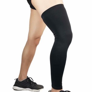 Ginocchio Maniche Thin gancio di sostegno Protector Scalda alta elastico rotula kneelet allo Sport e Daily Wear confortevole e traspirante G1059