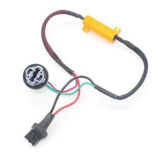 Dongzhen T20 Auto 7440 W21 W21W voiture LED Tourner Singal Résistance de charge pour Fix Ampoule LED rapide Hyper flash Tournez le style de voiture Signal