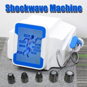 Portátil muscular Shock Wave Therapy Máquina Estimulador Terapia ED alívio da dor máquina reduzir a celulite Eletroterapia Slimming Shock Wave