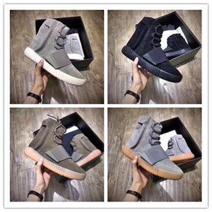 Tubular Invader Strap 750 Blackout Ar Livre sapatilha, Kanye West sapatos Hot Selling 750, Skate Sapatos, Sneakeheads sapatos sapatos altos