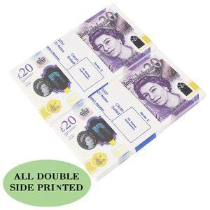 أفضل الدعامة نتظاهر المملكة المتحدة ورقة المال الفيلم نسخ الأوراق النقدية 100pcs التي دعامة المال / حزمة