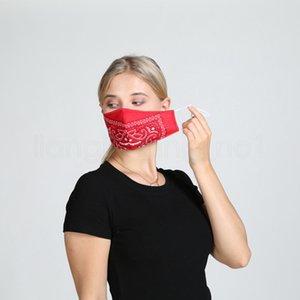 5styles floral impreso enmascarar de manera personalizada a prueba de polvo máscara de algodón transpirable lava máscaras protectoras de diseño suaves al aire libre FFA4082-5