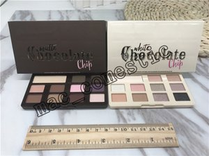 Matte chocolate chip eyeshadow Palette 11 colors Makeup Professional White Chocolate Chip Eye Shadow high quality real photo have in stock