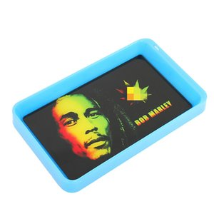 Cigarette Glow Rolling Tray Customize Gadgets for Men LED Tobacco Trays for Rolling Paper Smoking Accessories Gift for Boyfriend