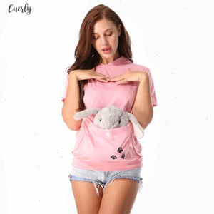 Seller Cat Casual Lovers Hoodie Kangaroo Dog Pet Paw Dropshipping Pullovers Cuddle Pouch Sweatshirt Pocket Animal Ear Hooded