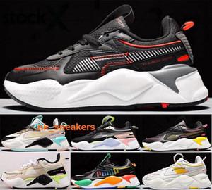 Erkekler eğitmenleri RSX eur 35 46 yeşil Koşu Ayakkabı moda Erkek Spor yeni varış 2020 Çocuk rs x boyutu 4 5 spor ayakkabıları bize 12 gençlik erkek kadınlar rahat