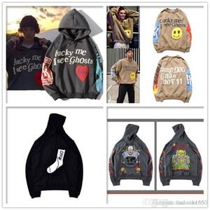Hip-Hop-Mode Vogeldruck Herrenjacke der Qualitätsmänner Damenmantelgröße S-XXL Pullover Kanye Männer