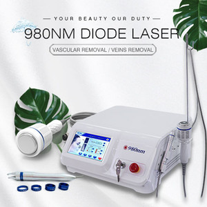 30W 980 diodo nm ablación vascular láser, facial vena piel fisioterapia y la araña vena tratamiento vena facial certificado láser 980nm CE
