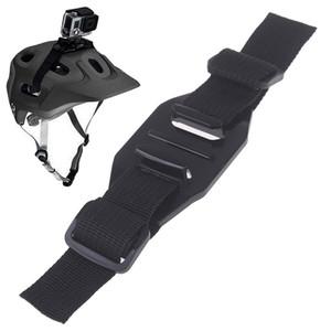 1pcs al por mayor buque rápido precio barato correa ajustable Casco para Go Pros7 5 6 4 Sesión 4 + Go Pro Cycling montaje de accesorios