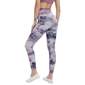 LU Sports Impressão Calças Nona Yoga Pants Mulheres Spring Roupa Cor de ventilação Novo Padrão populares UU 75lyb