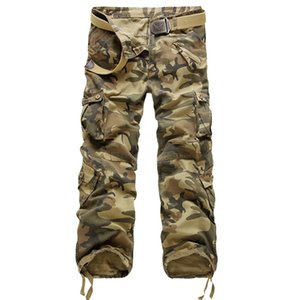 Pants Men Streetwear Vintage Cargo Pants Loose Korean Fashion Men 2019 Black Clothes 2018 Fall Street Wear Camouflage