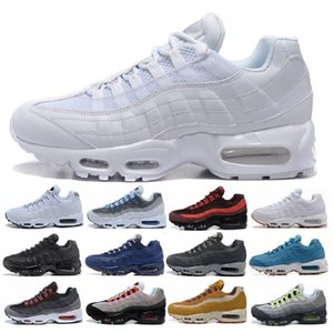 Nike Air Max 95 airmax 2019 chaussures New Mens Womens Classique Noir Rouge Blanc Sport Trainer Coussin De Surface Respirant Sport Sneakers Chaussures Casual 40-46