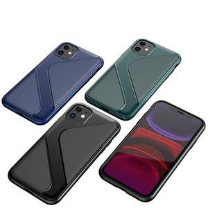 Высокое качество TPU S Pattern чехол для iPhone 6 7 8 X 11 серии Три цвета Samsung Galaxy S11 S11+ S11e Huawei MATE 30 MATE 30PRO обложка кожи
