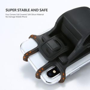 Телефон Holder Мотоцикл Велосипед телефон крепление для iPhone Samsung Универсальный кронштейн Велосипед Handlebar Клип Стенд GPS для IPhone 11