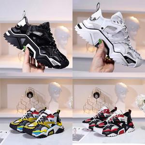 Reflexivo Fashion Designer de sapatos de luxo Women Dress Shoes Men Leather Lace Up Platform Oversized Sneakers Branco Preto Casual Sapatos Com Box