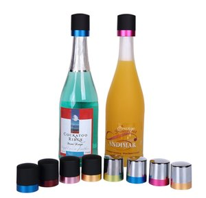 Champagne Stopper Silicone Rodada Rotary Red Wine Bottle Stoppers de ferramentas Wine Bar Acessório de alta qualidade 4 8SW E1