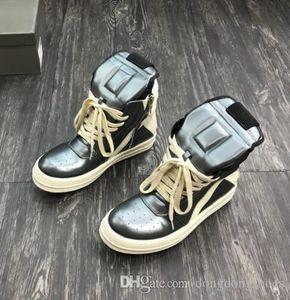 2018SS Zehen- und als alleinige Original-TPU-Sohle hoch oben echter Leder-Sneaker Trainer Rick Stiefel Outdoor-Schuhe ersetzt