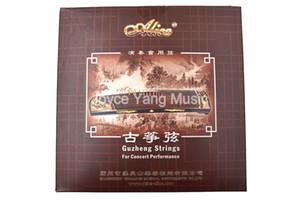 Stringhe Alice AT84S performance Gu Zheng Strings cinese cetra Arpa Koto acciaio nylon 1 ° al 21 set Free Shipping
