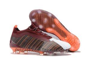 New One 5.1 Fg ag Arrivaled 2019 Fg David Sia Sergio Aguero Soccer Football Shoes Wine Send Trailblazer Orange White Cleats Size 39-45 2MU95