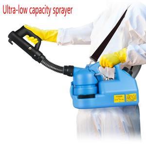 220V 7L eléctrico ULV en frío Fogger Insecticida atomizador ultra baja capacidad de desinfección del asesino del mosquito pulverizador ULV en frío Máquina Fogger 6013